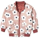 Huxbaby HUXBABY Flower Reversible Bomber (Little Kids/Big Kids) (Plum/Berry) Girl's Clothing