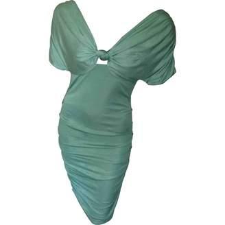 GUESS Green Silk Dress for Women