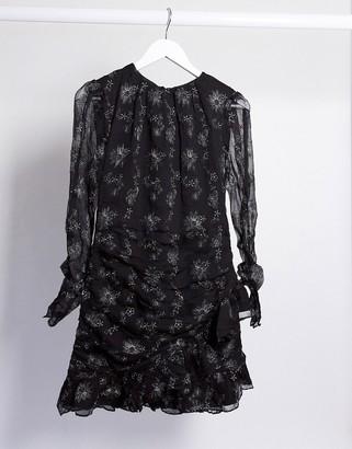 Stevie May Devonte midi dress in black