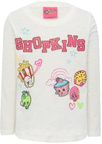 M&Co Shopkins character top and stickers