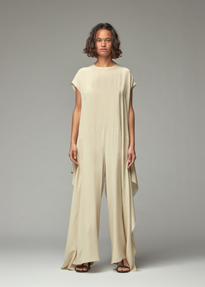 Dusan Women's Sleevelss Jumpsuit in Chino