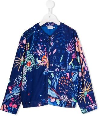 NOON BY NOOR MINI Heather floral jacket