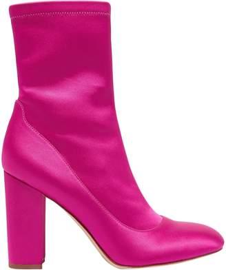 Sam Edelman Calexa Stretch-satin Ankle Boots