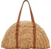 San Diego Hat Company Women's Woven Straw Bag BSB1358