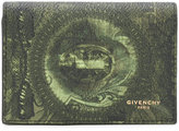 Givenchy money print wallet - men - Cotton/Polyester/Polyurethane - One Size