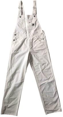 Carhartt White Denim - Jeans Jumpsuits