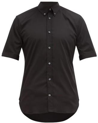 Alexander McQueen Brad Pitt Cotton-blend Poplin Shirt - Black