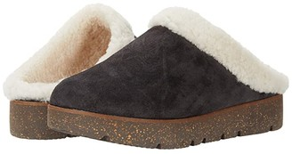 Gentle Souls by Kenneth Cole Lavern Closed Toe Slide Cozy (Mushroom Suede) Women's Shoes