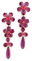 Kate Spade In Full Bloom Linear Earrings