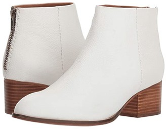 Seychelles Floodplain Bootie (White Leather) Women's Boots