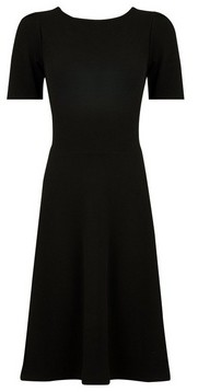 Dorothy Perkins Womens Tall Black Fit And Flare Dress, Black