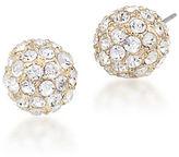 Carolee Eva Crystal Stud Earrings