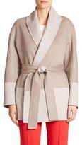 Escada Belted Wrap Cardigan