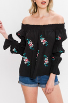 Flying Tomato Off Shoulder Blouse