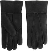 Portolano Patchwork Shearling Gloves (For Women)