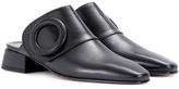 Boyy Yeuxlet leather mules