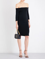 Wolford Sheen off-the-shoulder stretch-jersey dress