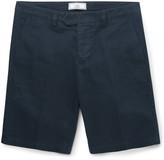 Ami - Slim-fit Cotton-twill Chino Shorts