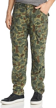 G Star Rovic Airforce Camouflage Print Relaxed Fit Cargo Pants