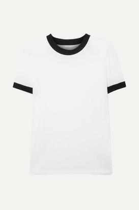 RtA Quinton Tencel-blend T-shirt - White