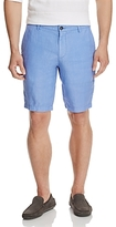BOSS Crigan Linen Straight Fit Shorts