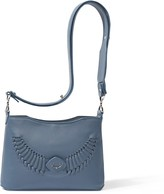 Yiy Drop Minibag & Crossbody Personalizable In Storm Blue