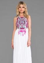 Mara Hoffman Mirror Embroidery Maxi Dress