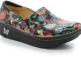 Alegria Debra Stain Resistant Leather Patterned Slip On Professional Clogs