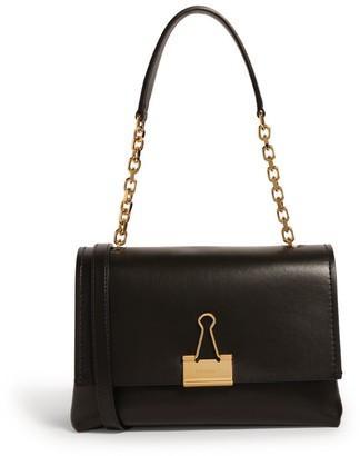 Off-White Medium Binder Clip Shoulder Bag