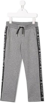 Givenchy Kids logo track pants