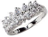 Lord & Taylor Sterling Silver and Cubic Zirconia Marquise Ring