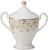 Nikko Spangles Shimmering Bone China Sugar Bowl with Lid