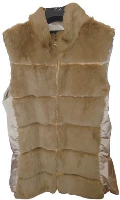 Ramosport Beige Rabbit Jacket for Women