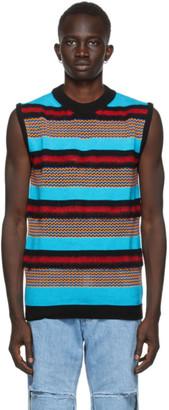 AGR SSENSE Exclusive Multicolor Mohair Vest