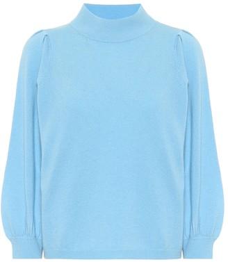 Jardin Des Orangers Wool and cashmere mockneck sweater