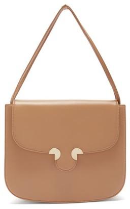 Rodo Smooth-leather Shoulder Bag - Beige