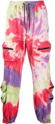 Mauna Kea Tie-Dye Track Pants
