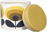 Orla Kiely 70s Oval Storage Jar - 1L - Yellow