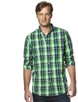 Chaps Men's Classic-Fit Plaid Oxford Button-Down Shirt