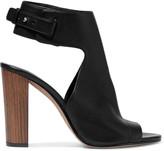 Vince Addie textured-leather sandals
