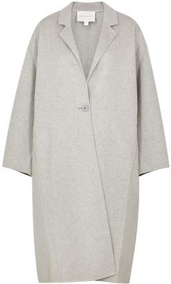 Viktoria & Woods Centennial light grey wool-blend coat