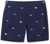Polo Ralph Lauren Newport Mid-Length Embroidered Swim Shorts
