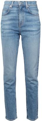 Proenza Schouler White Label PSWL High Rise Slim Jeans