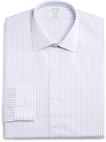 Brooks Brothers Non Iron Stripe Milano Regular Fit Dress Shirt - 100% Exclusive