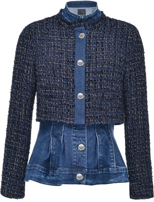 Pinko Detachable Tweed Jacket