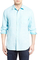 Tommy Bahama Boardwalk Breezer Original Fit Stripe Sport Shirt