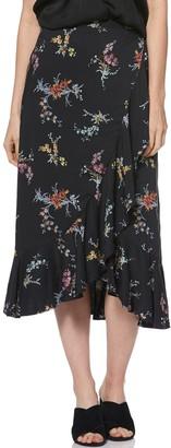 Paige Alamar Floral Wrap Skirt