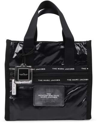 Marc Jacobs Black Ripstop Mini Tote