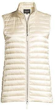 Lafayette 148 New York Women's Scout Satin Tech Quilted Vest