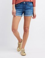 Charlotte Russe Refuge Girlfriend Cuffed Denim Shorts